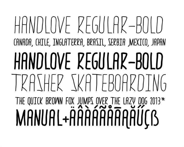 Image for thrasher hand font