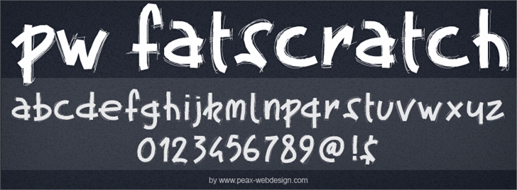 Image for PWFatscratch font