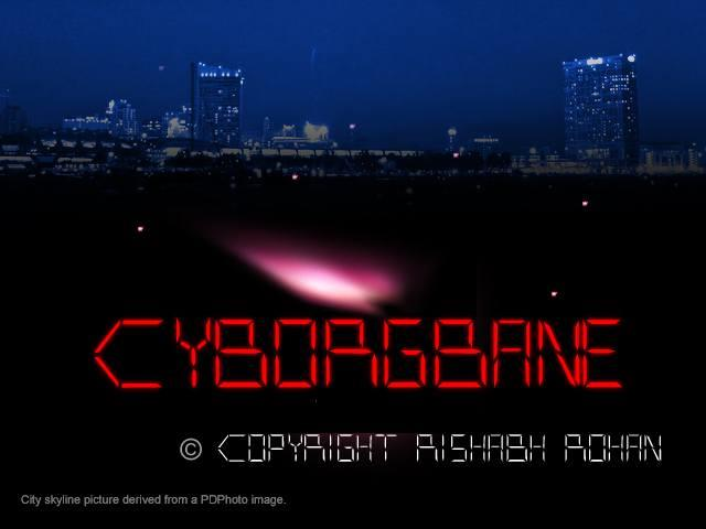 Image for CYBORGBANE font