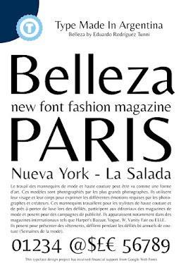 Image for Belleza font