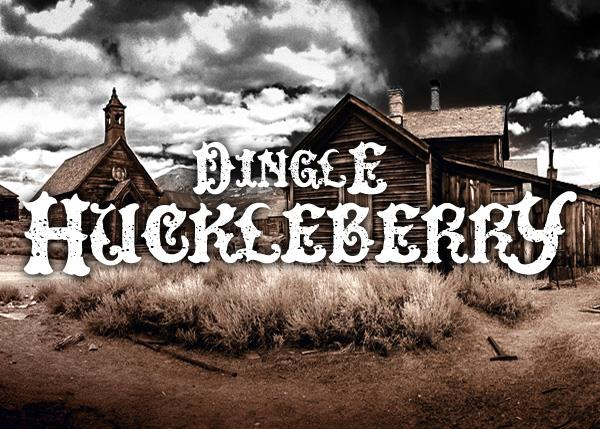 Image for DinglE HuckleberrY font