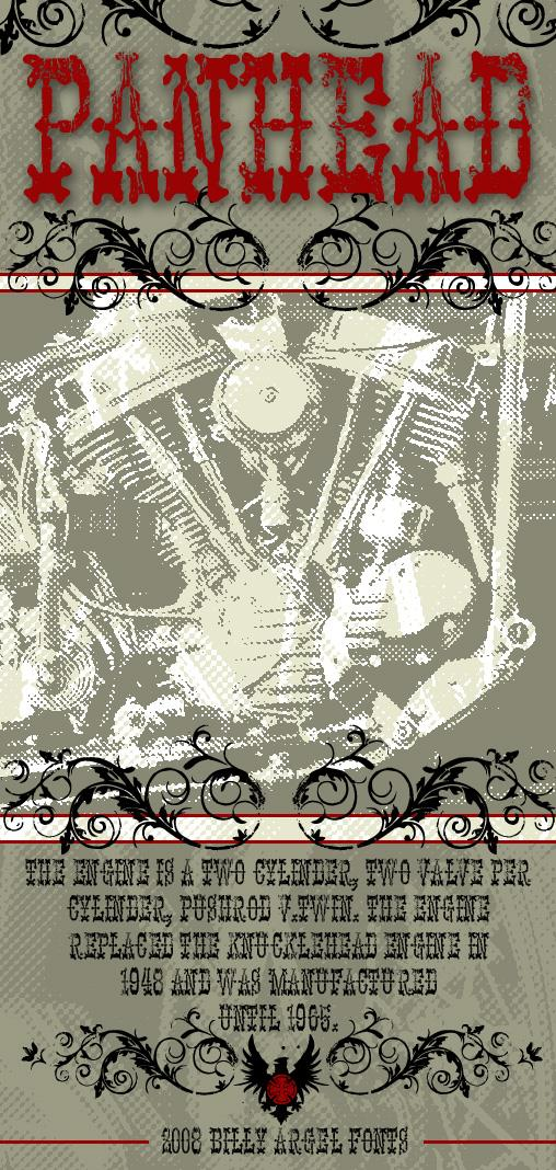 Image for PANHEAD font