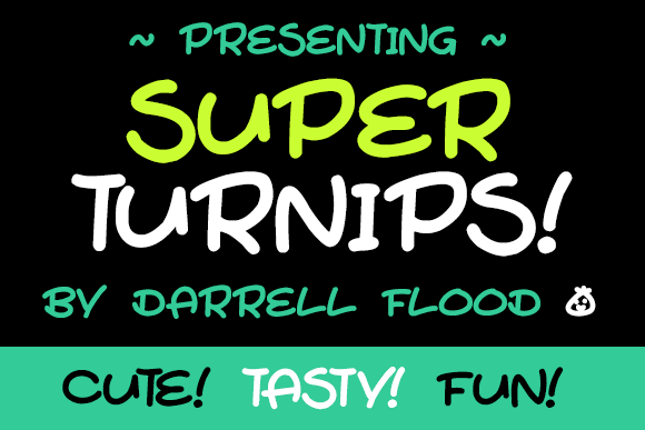 Image for Super Turnips font