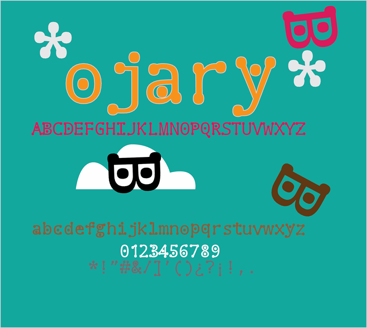 Image for ojary font