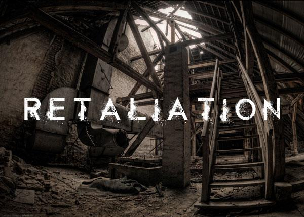 Retaliation font by Chris Vile