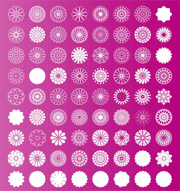 shapes pro font by elharrak