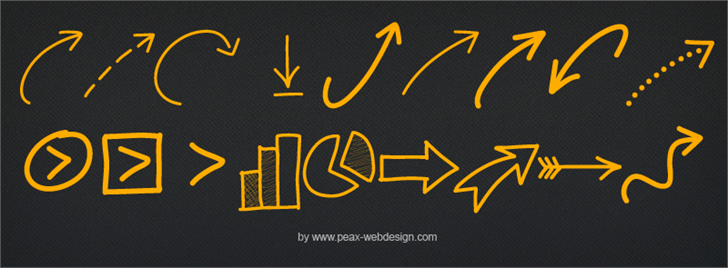 Image for PWNewArrows font