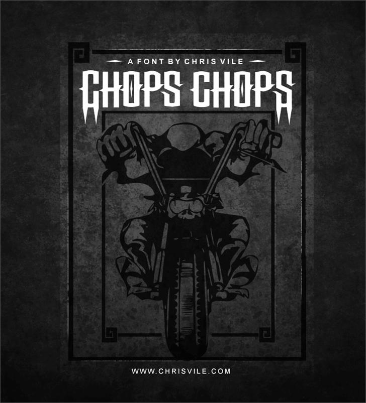 Image for Chops chopS font