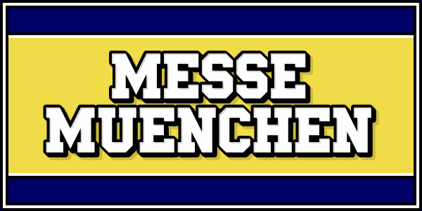 Messe Muenchen font by Chequered Ink