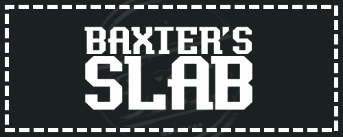 Baxter's Slab font by Chequered Ink