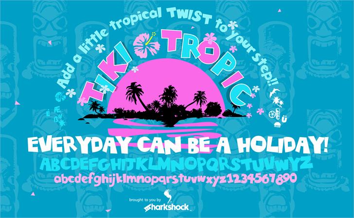 Image for Tiki Tropic font