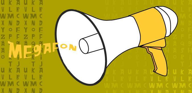 Megafon font by Fontomen