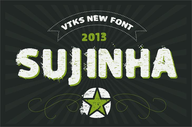 Image for vtks sujinha font