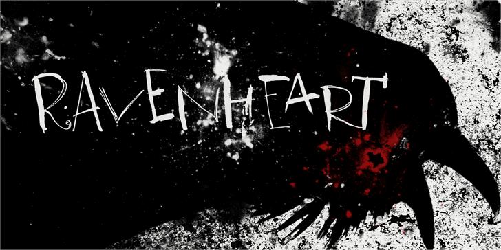 Image for DK Ravenheart font