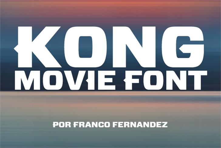 Image for Kong font