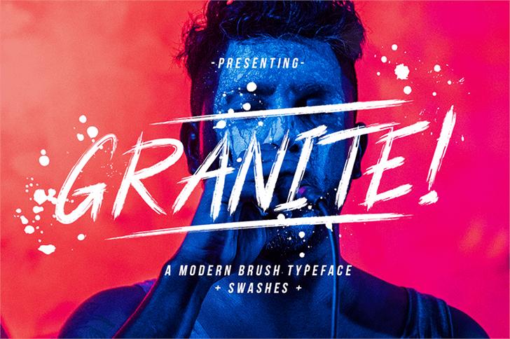 Granite font by Creatype Studio