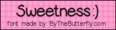 Image for Sweetness font