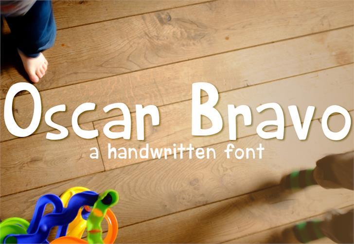 Image for Oscar Bravo font