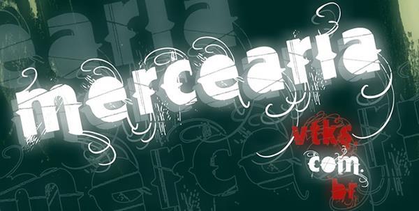 Image for Vtks Mercearia font