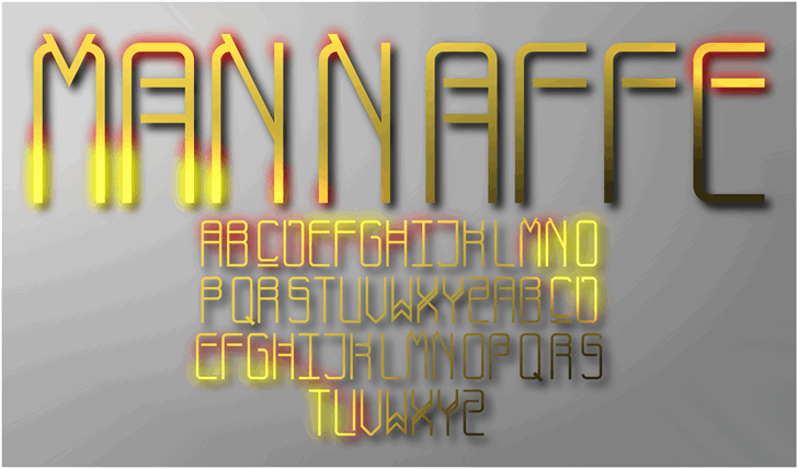 Image for Mannaffe Yunis font