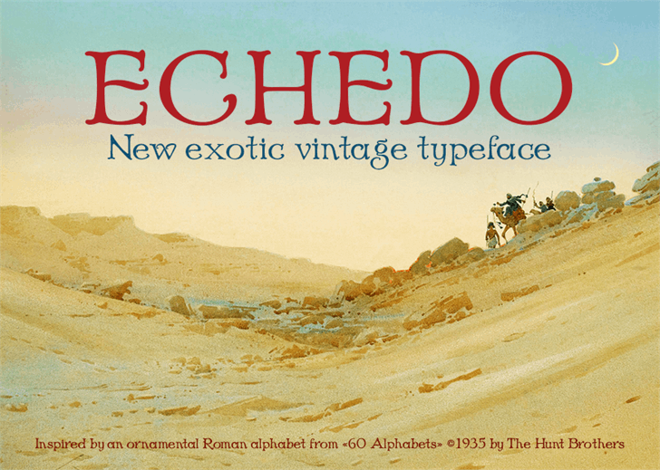 Image for Echedo PersonalUse font