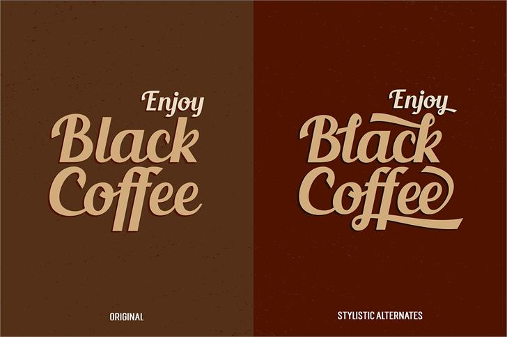 Image for Blenda Script font