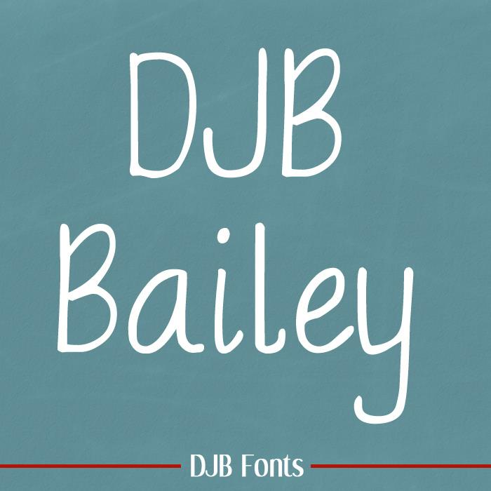 Image for DJB BAILEY font