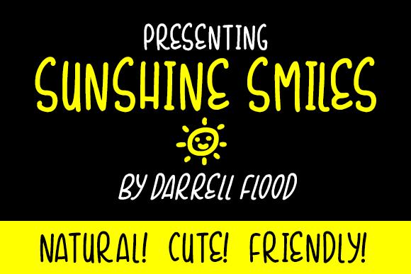 Image for Sunshine Smiles font
