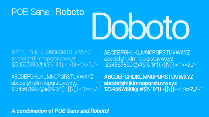 Doboto font by 538Fonts