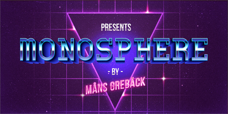 Image for Monosphere Personal Use font