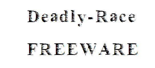 Image for Deadly_race font