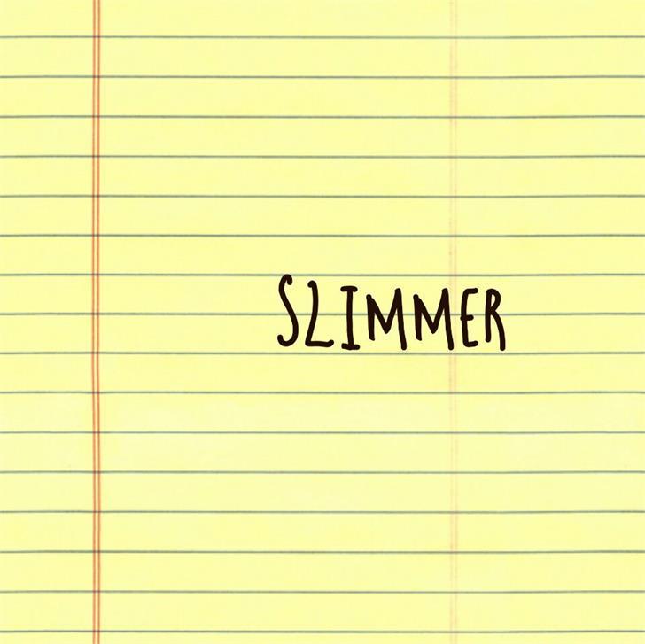 Image for Slimmer font