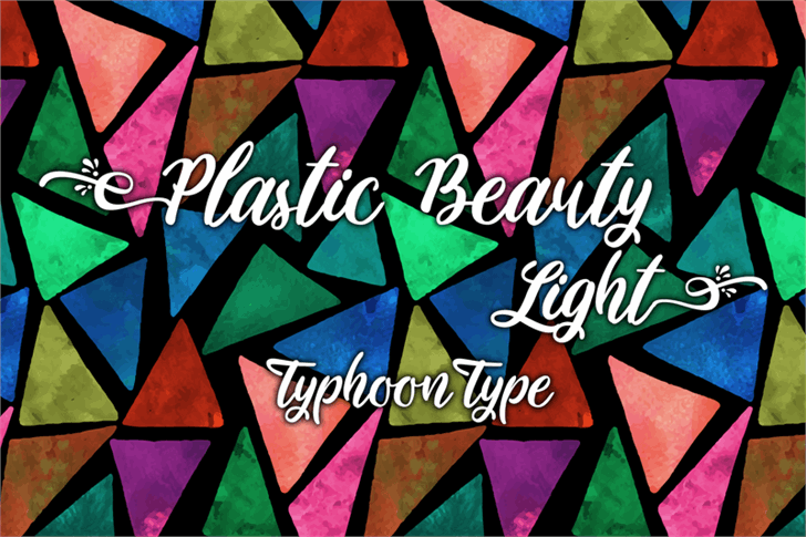 Image for Plastic Beauty Light font