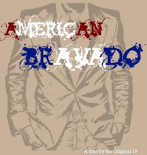 Image for American Bravado font