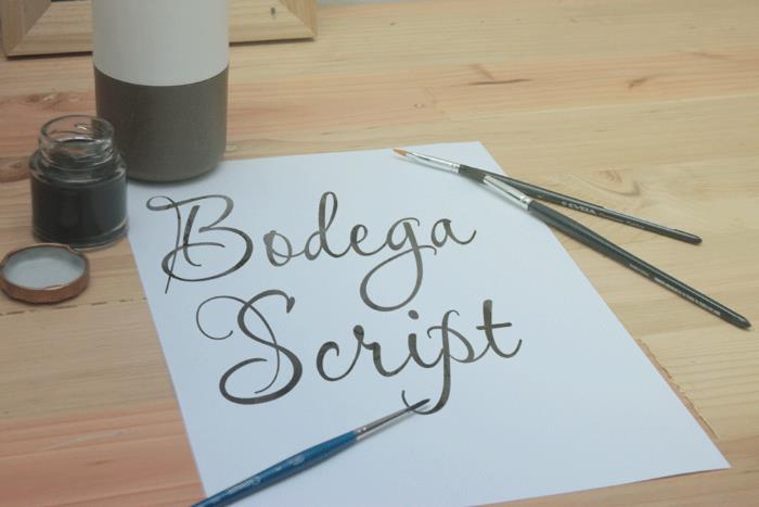 Image for Bodega Script font