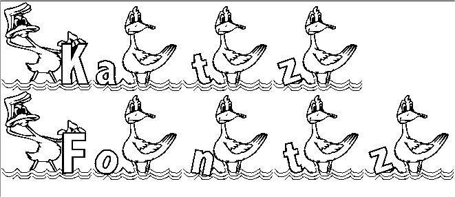 Image for KG DUCKS2 font