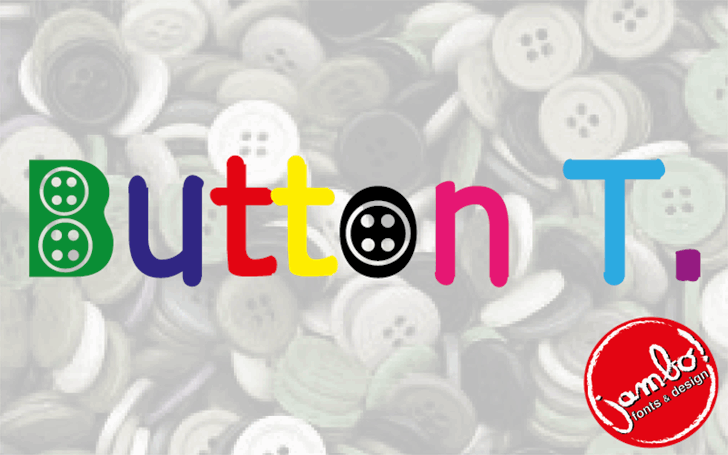 Button T. font by Jambo! Fonts & Design