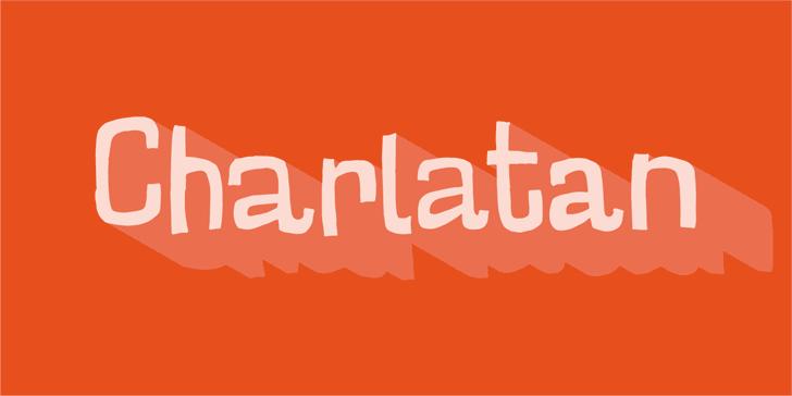 Image for Charlatan DEMO font