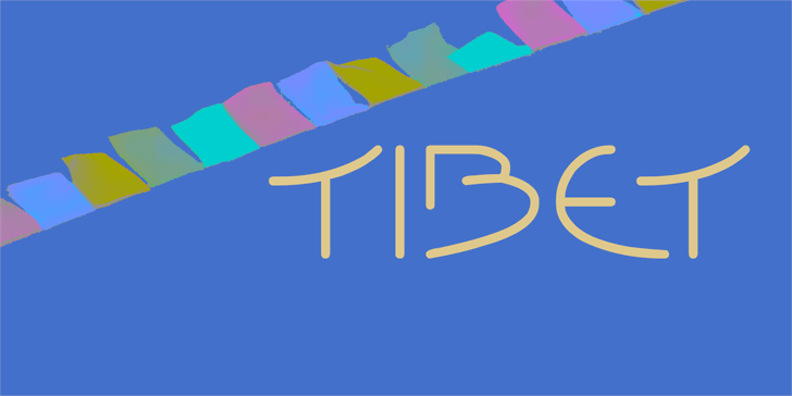 Image for Tibet font