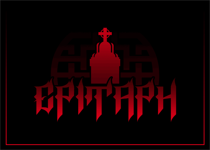 Image for Epitaph font