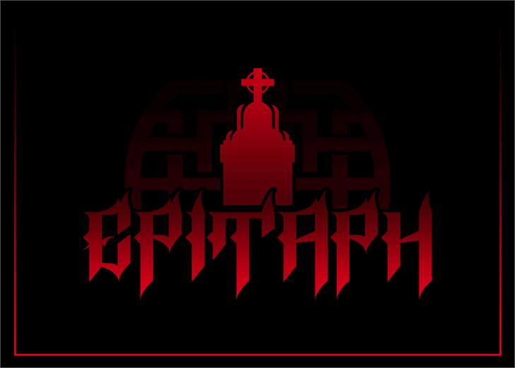 Epitaph font by Font Monger