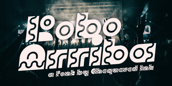 Robo Arriba font by Chequered Ink