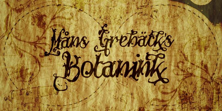 Image for Botanink font