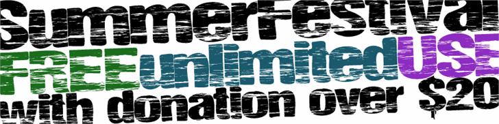 Image for SummerFestival font