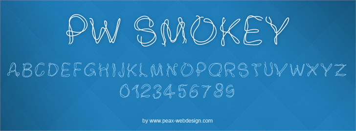 Image for PWSmokey font