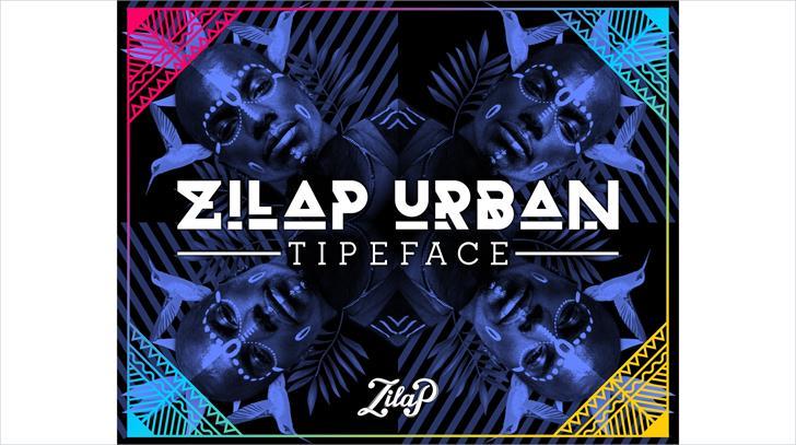 Zilap Urban font by ZILAP ESTUDIO - ZP