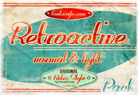 Image for Retroactive_demo-version font