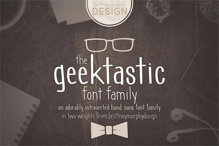 Image for geektastic font
