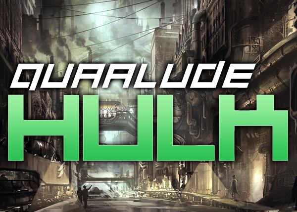 Image for Quaalude hulk font