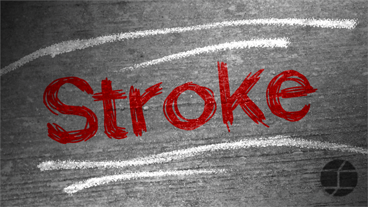 Stroke font by Jake Luedecke Motion & Graphic Design